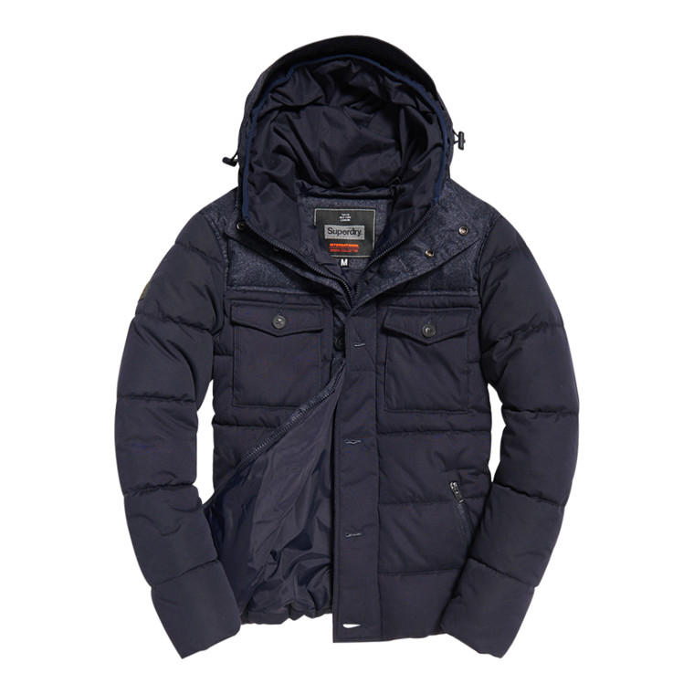 Superdry Tech Tweed Jakke