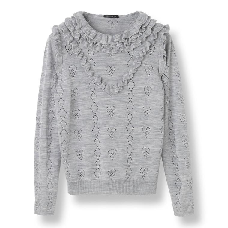 Stella Nova Melange Knit Sweater