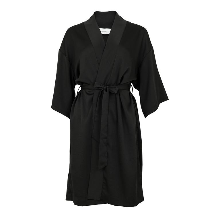 Neo Noir Kelsie Solid Kimono