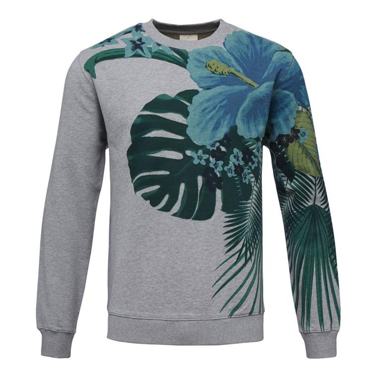 Knowledge Cotton Gigant Flower Sweatshirt