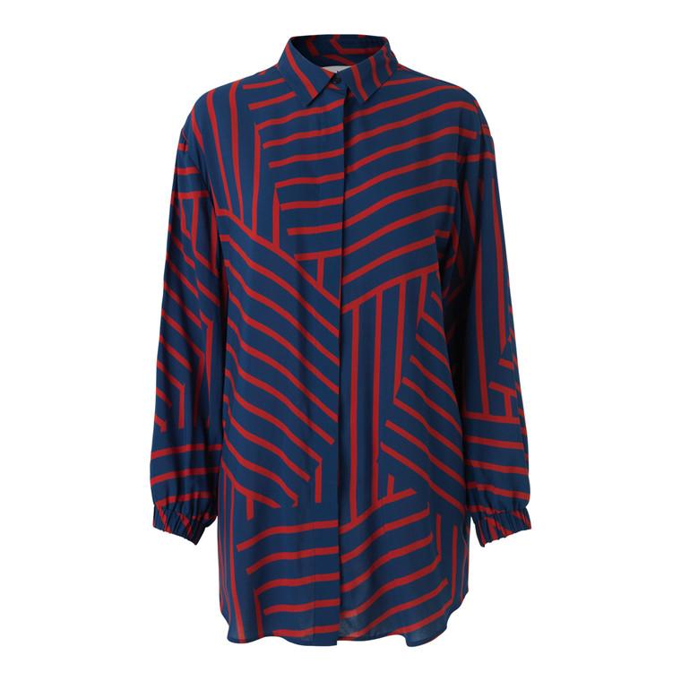 Mads Nørgaard Stripe Salaxa Skjorte