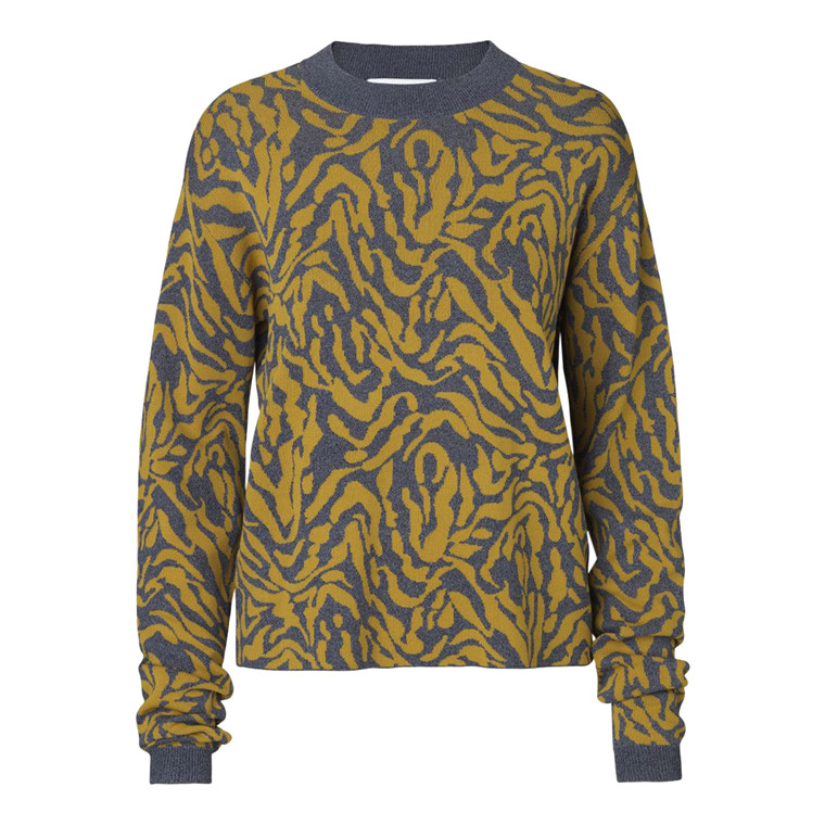 Notes Du Nord Goldie Bluse