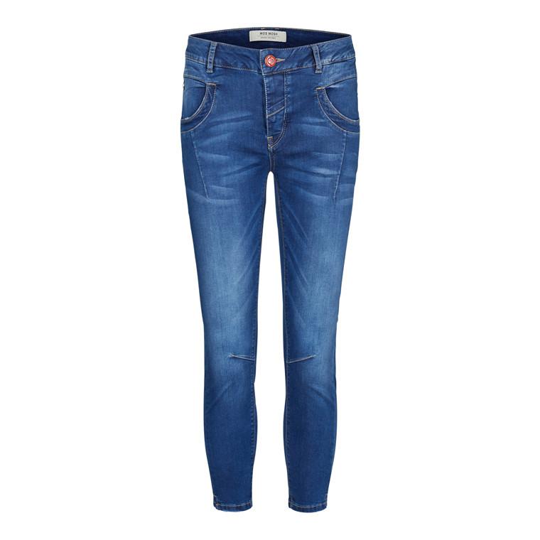 Mos Mosh Naomi Sateen Split Jeans