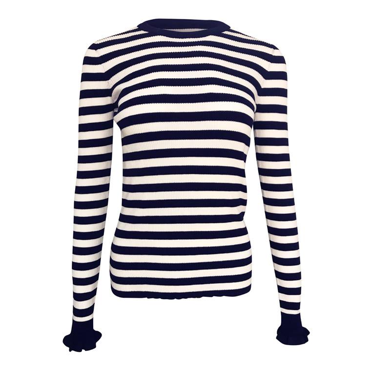Neo Noir Nelle Stripe Bluse