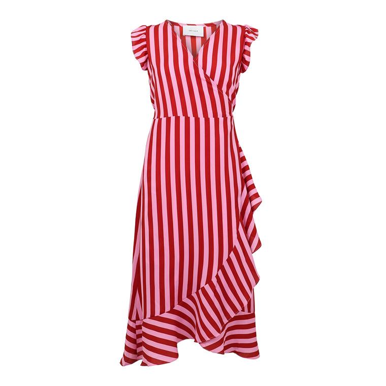 Neo Noir Manda Broad Stripe Kjole