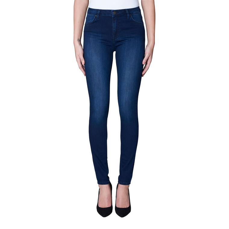 2nd One Nicole Covert Blue Flex Jeans