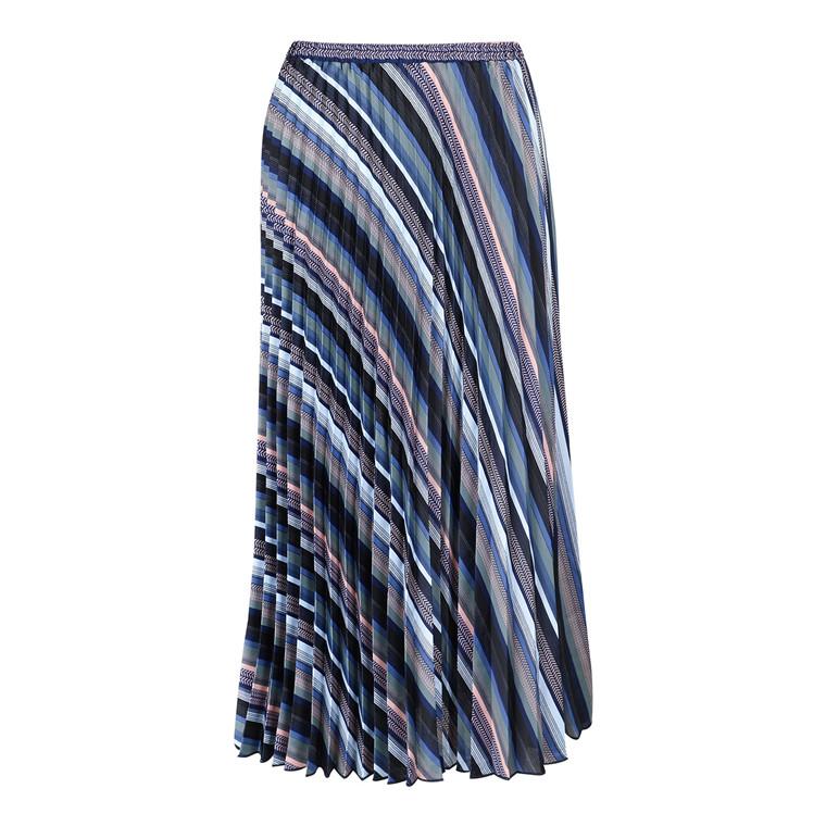 Neo Noir Fria Graphic Stripe Nederdel