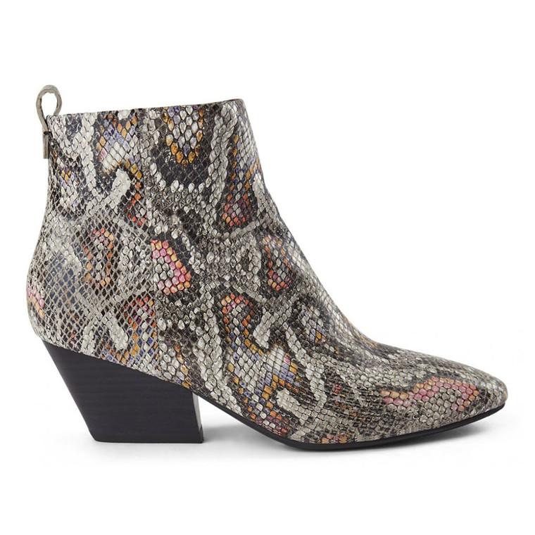 Shoe The Bear Cleo Snake Ankelstøvler
