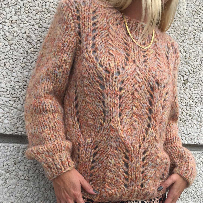 Daria Strik i brun fra Storm & Marie NYT MÆRKE ONLINE Køb din strik her!