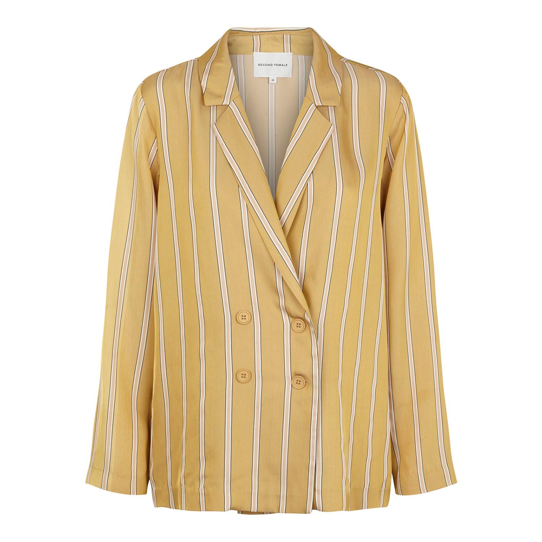 bd50fa28900 Meril Blazer i gul fra Second Female   52081   Køb din blazer online her!