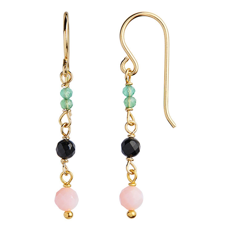 49e2f73d2fd Petit Bon Bon Pink Ørering i guld fra Stine A - Køb dine Smykker online her!