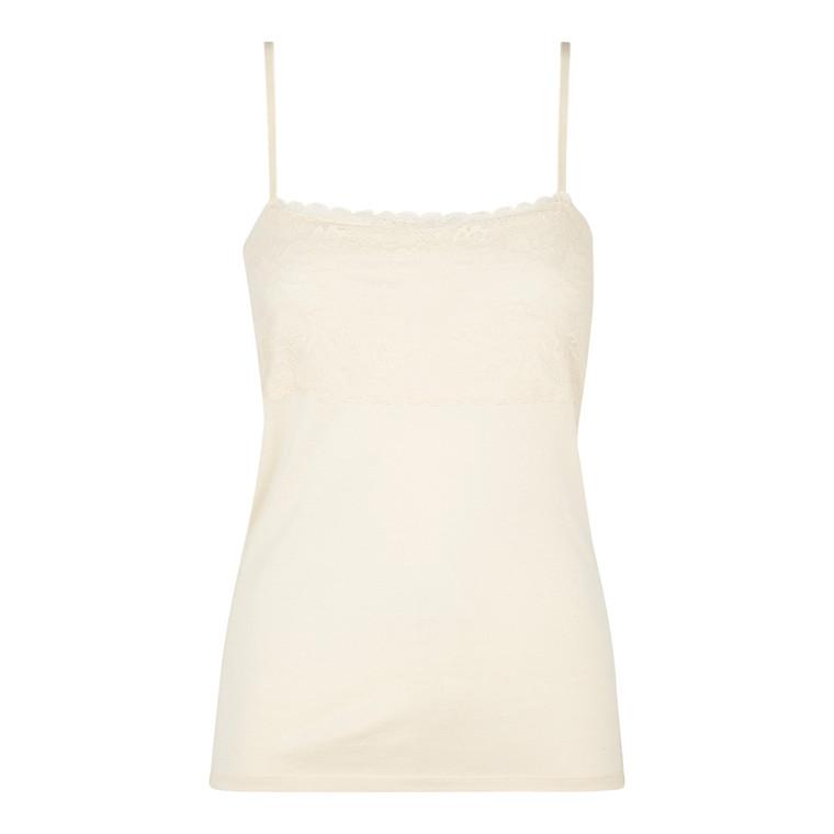 Rosemunde Silk Strap Top