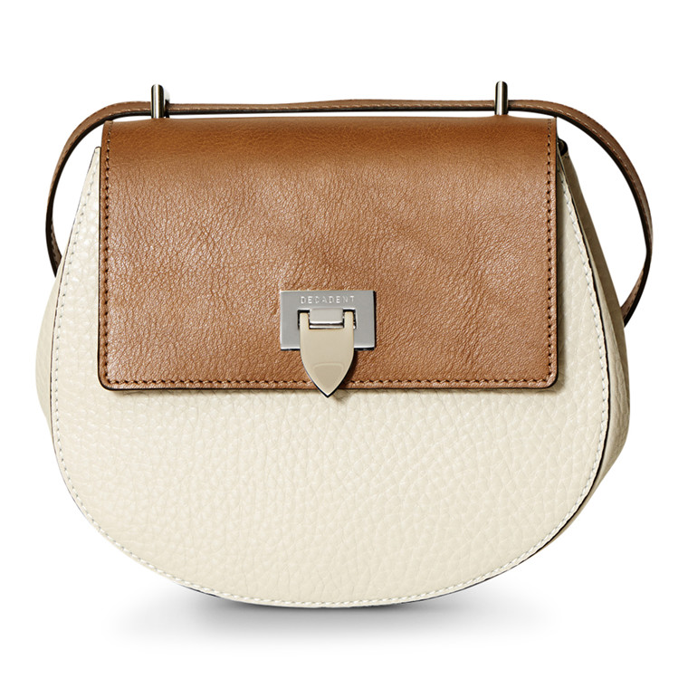Decadent Tiny Round Satchel Taske