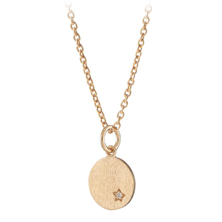 Pernille Corydon Diamond Coin Halskæde