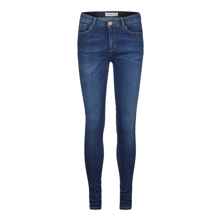 Mos Mosh Jade Blue Knitted Jeans
