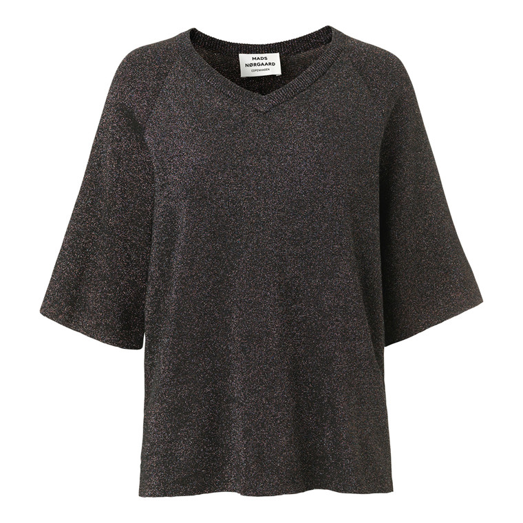 Mads Nørgaard Glam Knit Kazzy Top