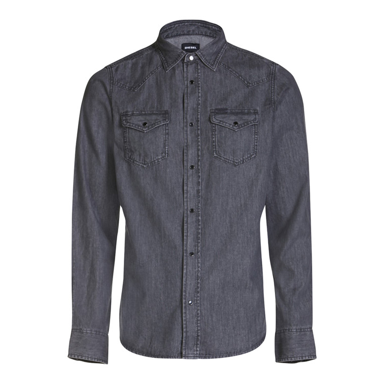 Diesel New Sonora Denim Skjorte