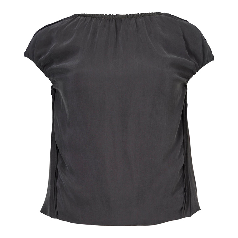 Gustav Wrinkled Double Layer Top