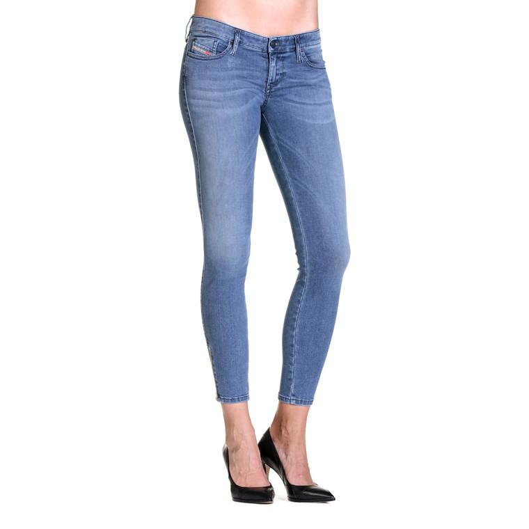 Diesel Skinzz Low Zip Jeans