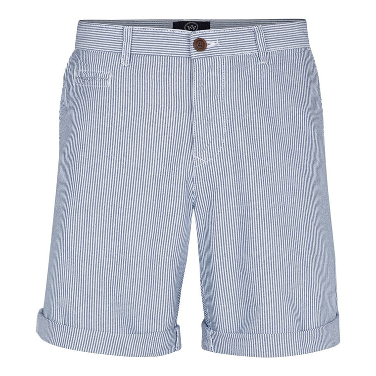 Kronstadt Jonas Oxford Stripe Shorts