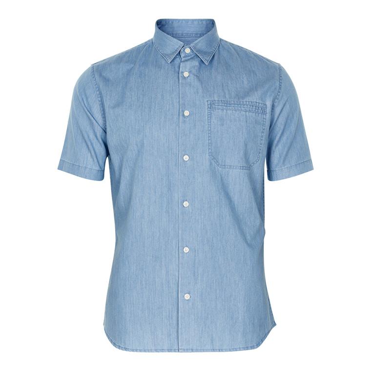 Matinique Trostol Denim Kortærmet Skjorte