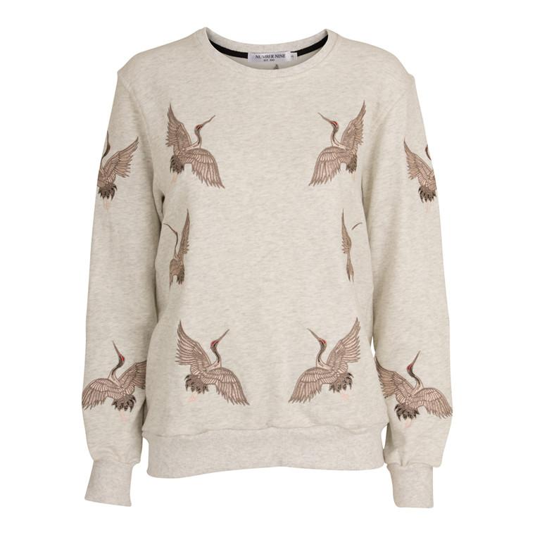 Number Nine Bird Sweatshirt