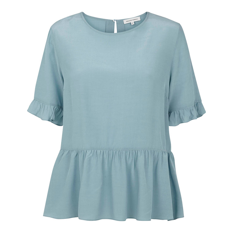 Second Female Charlotta Peplum Top