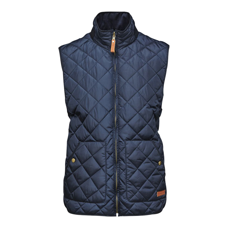 Knowledge Cotton Reversible Vest