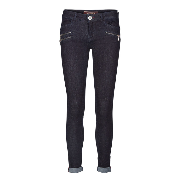 Mos Mosh Berlin Zip Push Up Jeans