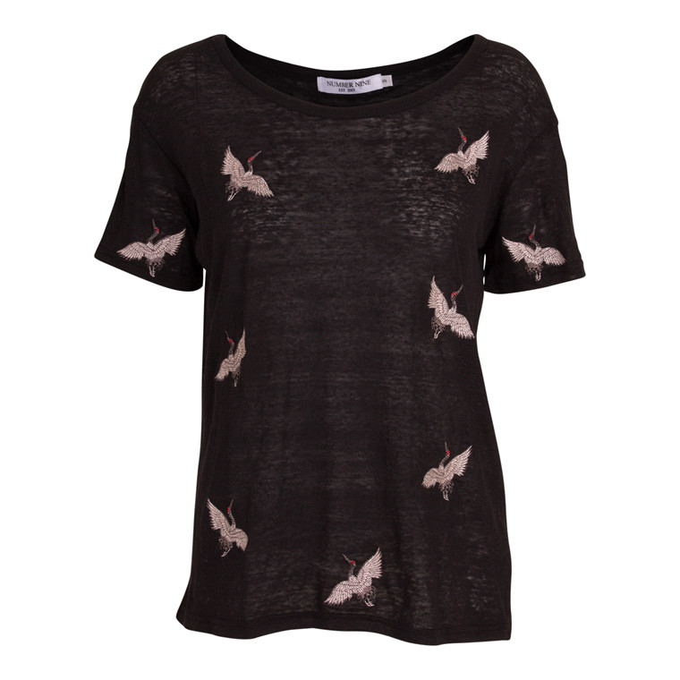 Number Nine Bird Allover T-shirt