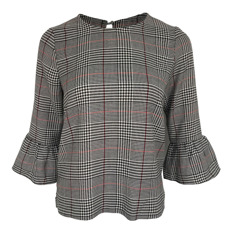 Neo Noir Lucy Check Bluse