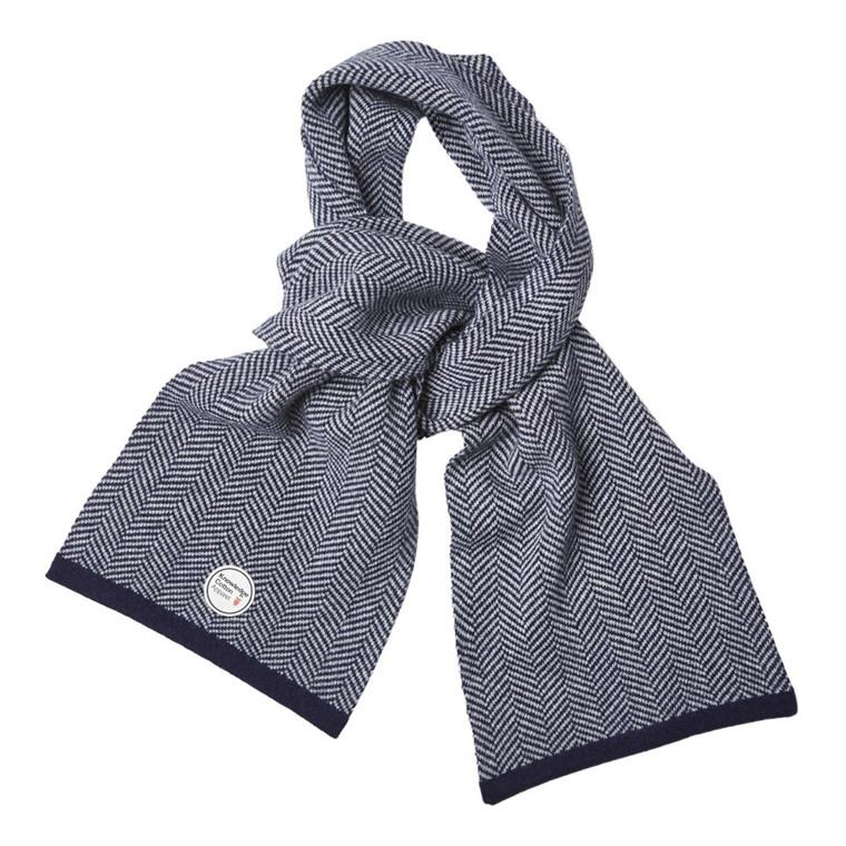 Knowledge Cotton Zig Zag Tørklæde