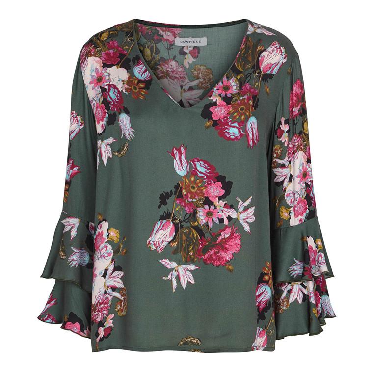 Continue Abbie Flower Bluse