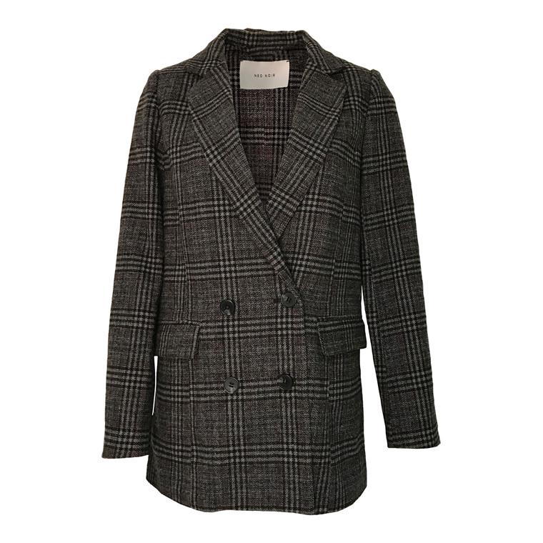 Neo Noir Adina Tweed Blazer