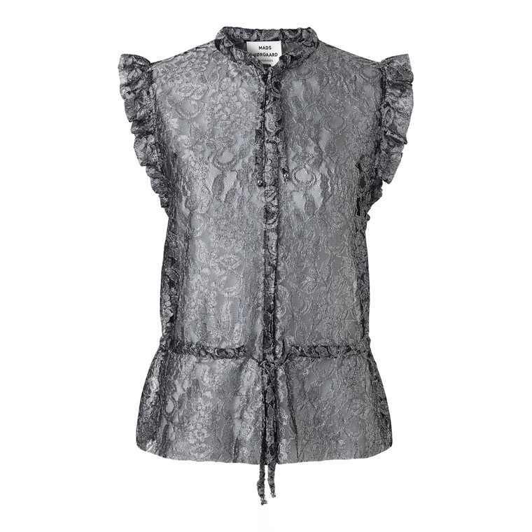 Mads Nørgaard Luka Lace Ballroom Top