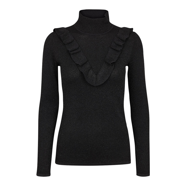 Second Female New Idal Knit Turtleneck Bluse