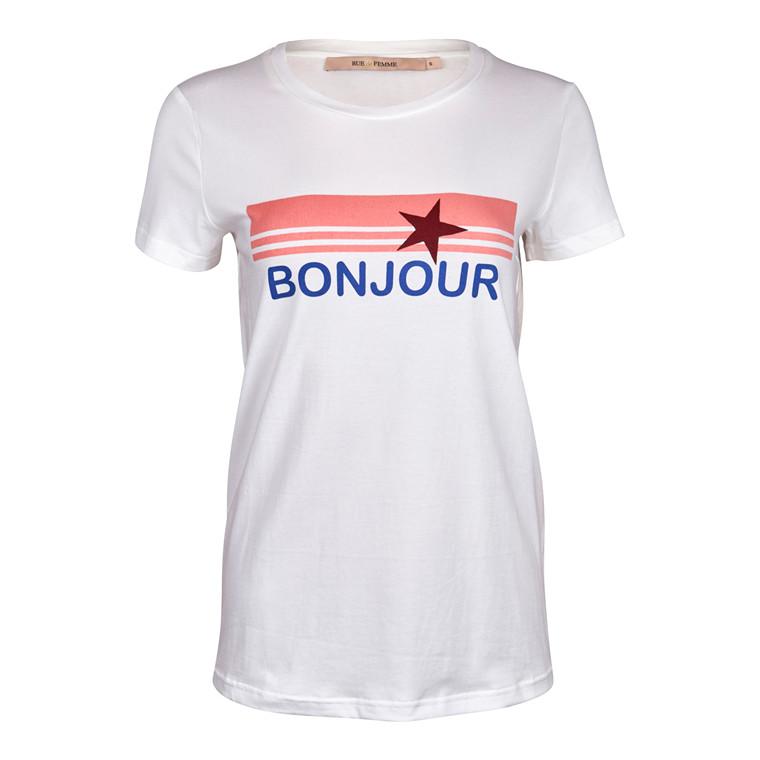 Rue De Femme Peach T-shirt