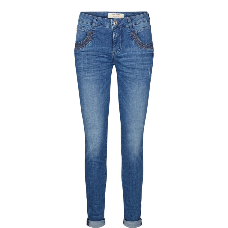 Mos Mosh Naomi Stitch Jeans