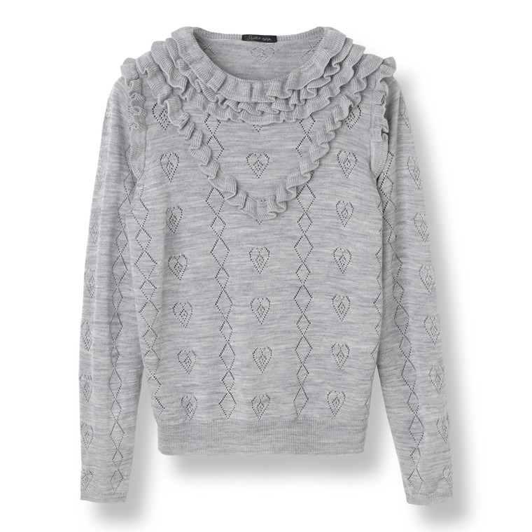 Stella Nova Melange Knit Sweater