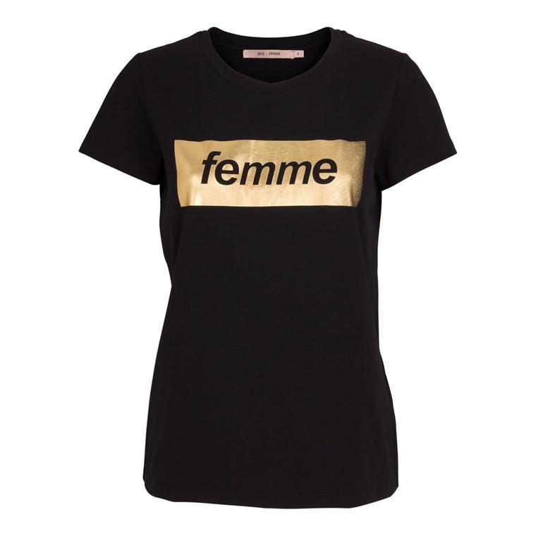 Rue De Femme Femme Metal T-shirt