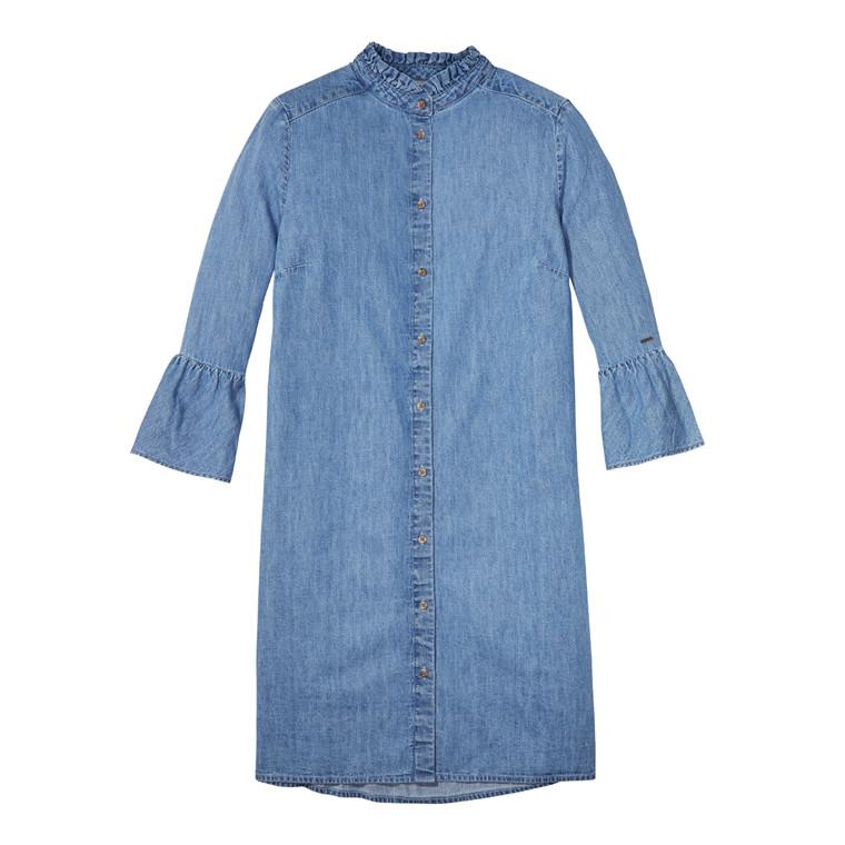 Tommy Jeans Skjortekjole