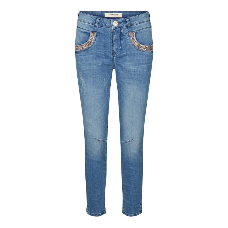 Mos Mosh Naomi Shine Split 7/8 Jeans