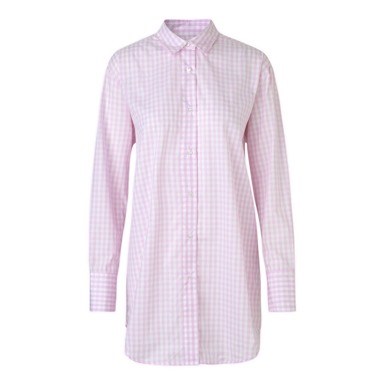 Mads Nørgaard Pop Check Saxa Sport Cuff Skjorte
