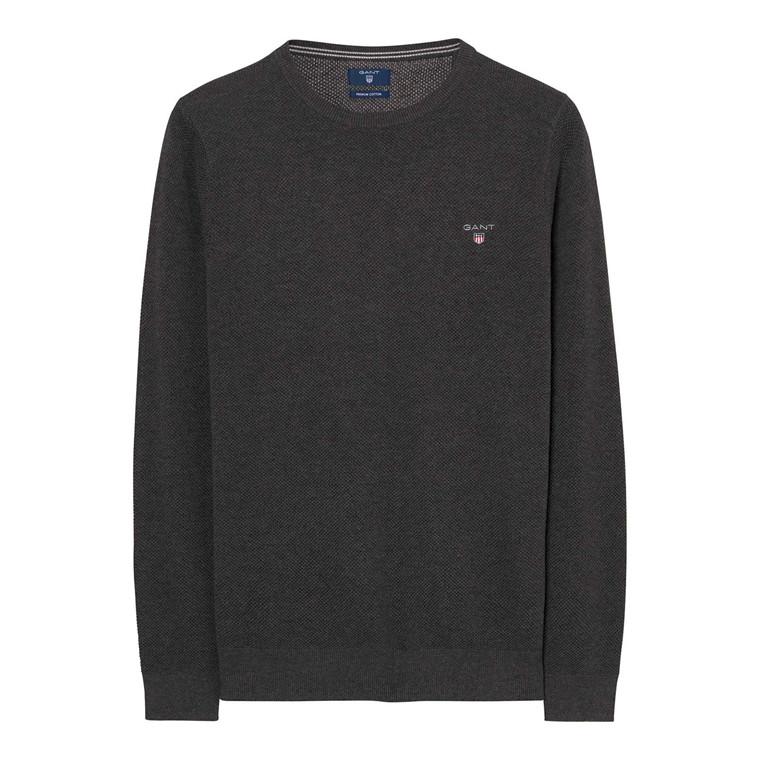 Gant Pique Crew Sweater