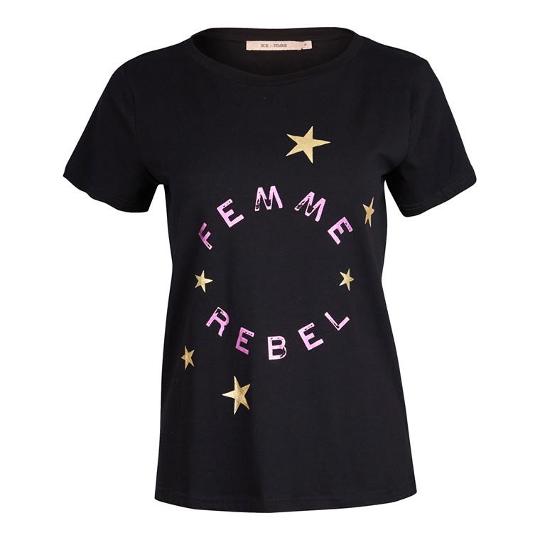 Rue De Femme Rebel T-shirt