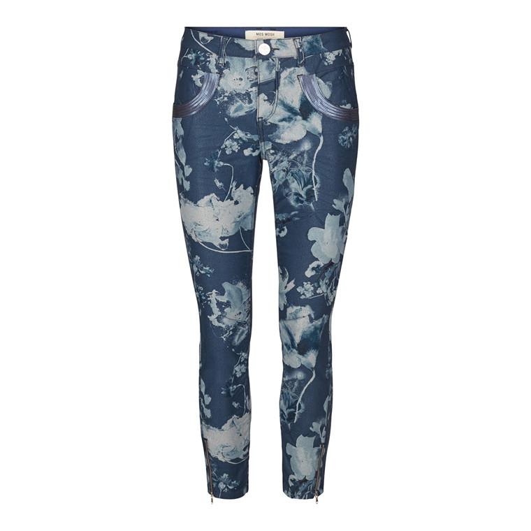 Mos Mosh Naomi Glam Flower 7/8 Jeans