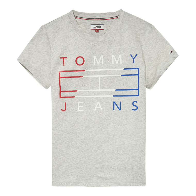 Tommy Jeans Clean Tommy Flag Logo T-shirt