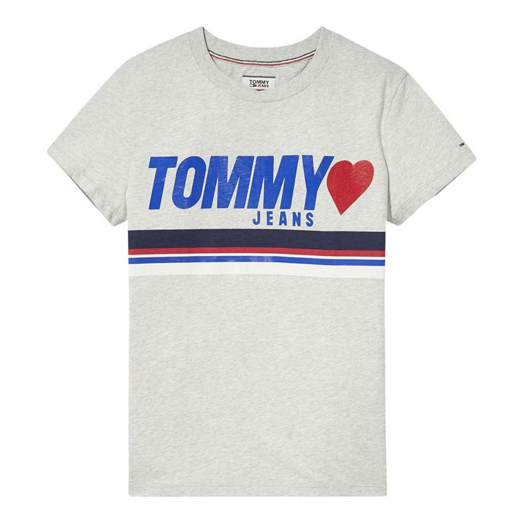Tommy Jeans Foil Logo T-shirt