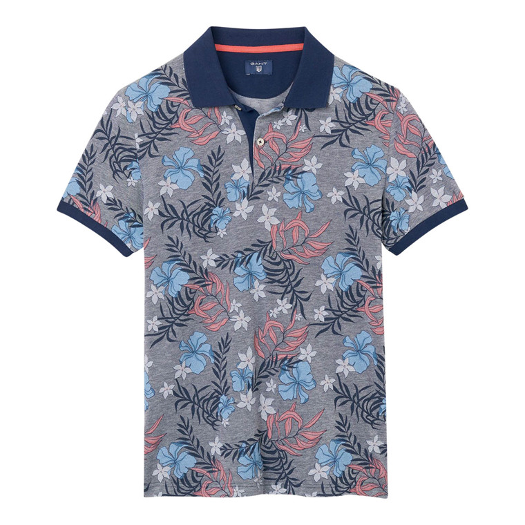 Gant Multi Flower Pique Polo