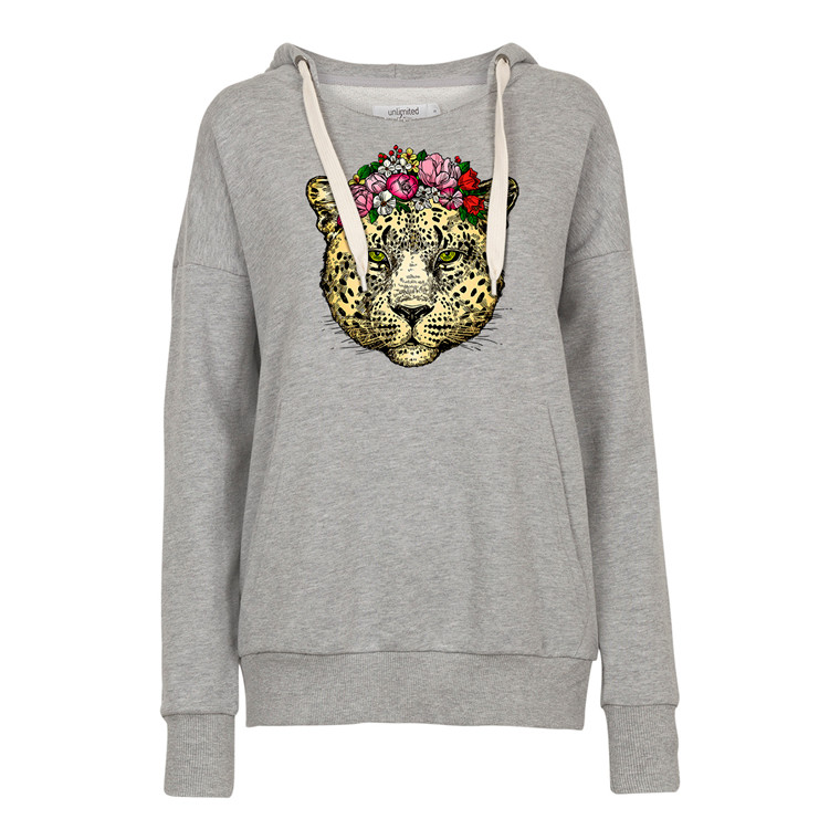 Unlimited Edition Jaguar Flower Hoodie